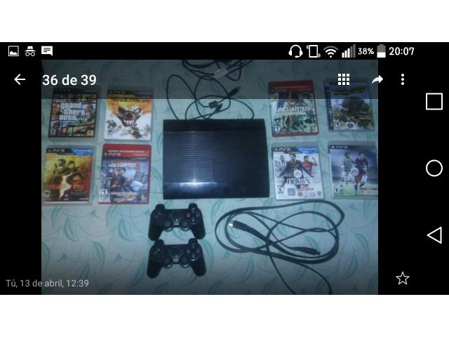 Playstation 3 Slim (usada) - 3/3
