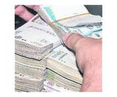Oferta de préstamo de dinero entre serio y fiable especial