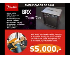 AMPLIFICADOR DE BAJO FENDER BXR25