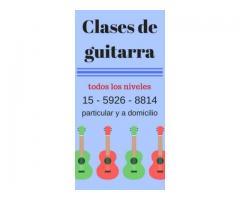 Clases de guitarra - San Telmo - Monserrat