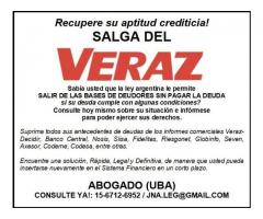 SALGA DEL VERAZ!!! ABOGADO (UBA)