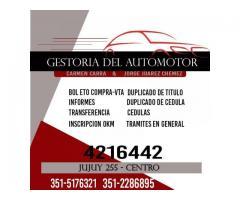 GESTORIA DEL AUTOMOTOR