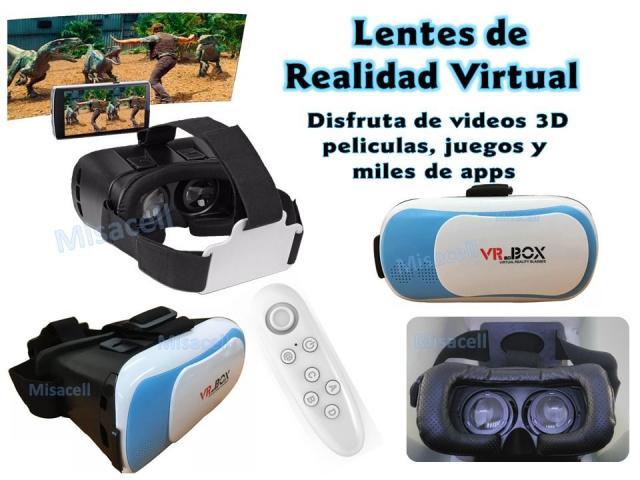 Gafas De Realidad Virtual Vr Box Con Control Remoto Lanus
