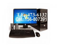 Tecnico Computadoras a Domicilio PC y Notebooks Mar del Plata 473-6132