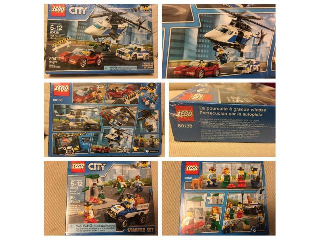 IDEAL DÍA DEL NIÑO!!!!!! LEGO - Juego Persecución Por La Autopista - 100 % Originales!! - 1/1