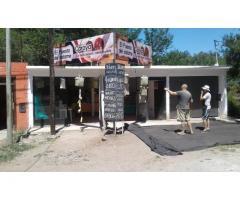 VENDO O ALQUILO DOS LOCALES COMERCIALES SOBRE RUTA 38 KM 50 VALLE HERMOSO SIERRAS DE CORDOBA