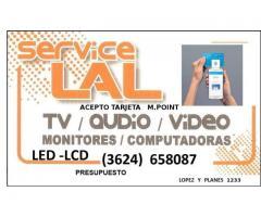 REPARACION DE TV LCD LED AUDIO Y COMPUTADORAS