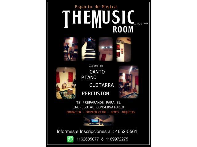 CLASES DE CANTO, PIANO Y BOMBO!! - 1/2