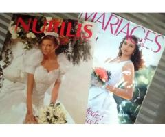 revista de novias Nubilis y Mariages