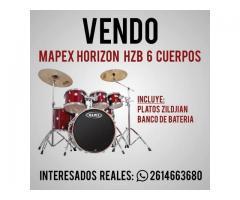 Bateria Mapex HORIZON HBZ PRO 6cuerpos