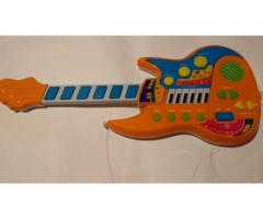 guitarra piano bateria intantil