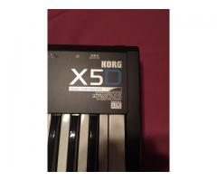 Vendo Teclado Sintetizador Korg X5D