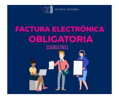 """Facturas electronicas y manual """"a"""" y """"b"""""""