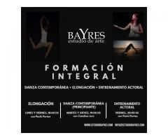 Formacion integral (bailarines y actores). Contemporaneo, Elongacion