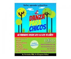 DANZA PARA CHICOS. KIDS DANCE. APRENDER, JUGAR Y DIVERTIRSE
