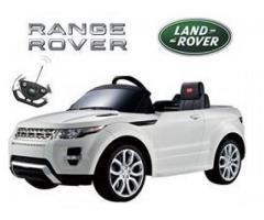 Auto a bateria y control remoto range rover evoque