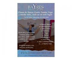 Clases de Danza, Baile, Canto, Yoga, Zumba y más! Todas las edaes