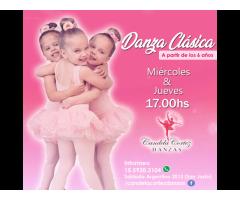 Clases de DANZA CLÁSICA - INFANTIL en SAN JUSTO!