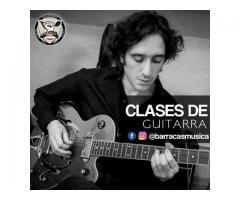 Clase guitarra Barracas