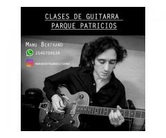 Clase guitarra Parque Patricios