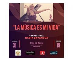 Recital de La.compositora rusa-NADIA.BAYANOVA
