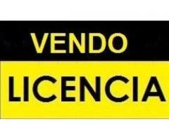 Vendo licencia de taxi Capital