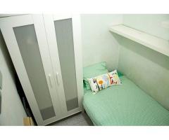 alquiler de habitación individual para hombre