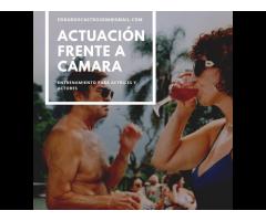 ACTUACIÓN FRENTE A CÁMARA
