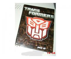 Nuevo Pack de 3 Dvds Originales Serie Transformers Generación I