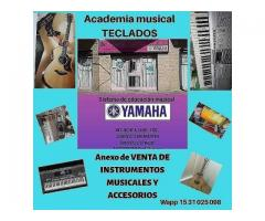 Clases de PIANO TECLADO GUITARRA CON SISTEMA YAMAHA