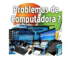 tecnico reparacion service arreglos computadoras notebook netbook pc