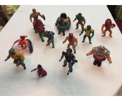 Vendo Lote de 14 figuras He man originales de los 80'