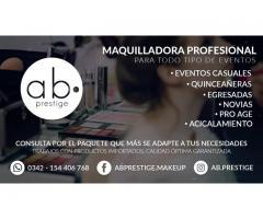 Maquillaje Profesional AB Prestige