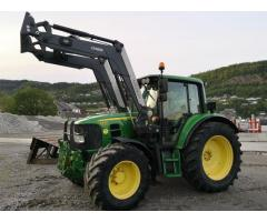 Tractor John Deere 6330 concargador