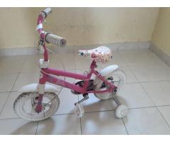 Bicicleta Barbie rodado 12