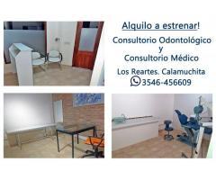 Alquilo Consultorio Odontológico y Médico a Estrenar.
