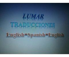 TRADUCCIONES INGLÉS-ESPAÑOL-INGLÉS - ARANCELES ACCESIBLES