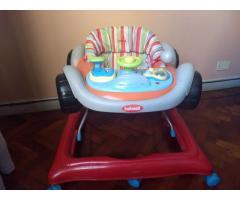 Andador Musical P/ Bebe bebesit Rally Bandeja Con Juegos