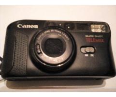 Vendo Cámara de fotos Canon Sure Shot Tele Max, 35mm