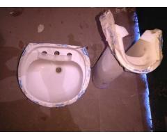 lavatorio con pedestal ferrum