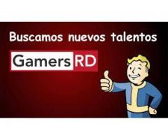 En GamersRD buscamos nuevos talentos