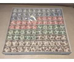 90 bolas bolillas de bingo profesionales