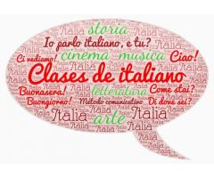Profesora de lengua y cultura italiana