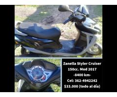 Zanella Styler Cruiser 150cc