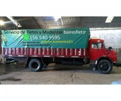 Fletes y mudanzas con camion al mejor precio!!