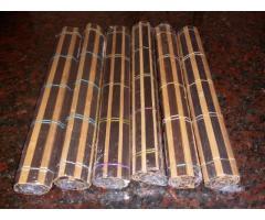 Set 6 Manteles Individuales Bambú