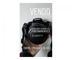 Cámara réflex Canon EOS xsi