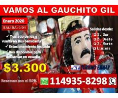 VIAJES AL GAUCHITO GIL / MICROS MERCEDES CORRIENTES