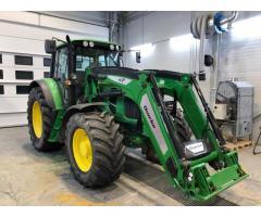 Tractor John 6530 con cargador