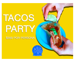 La Latina Tacos Party / Arepas Party / Catering Peruano